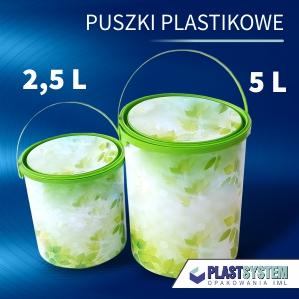 puszka plastikowa 5 L
