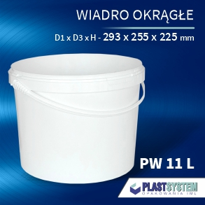 wiadro PW 11 L